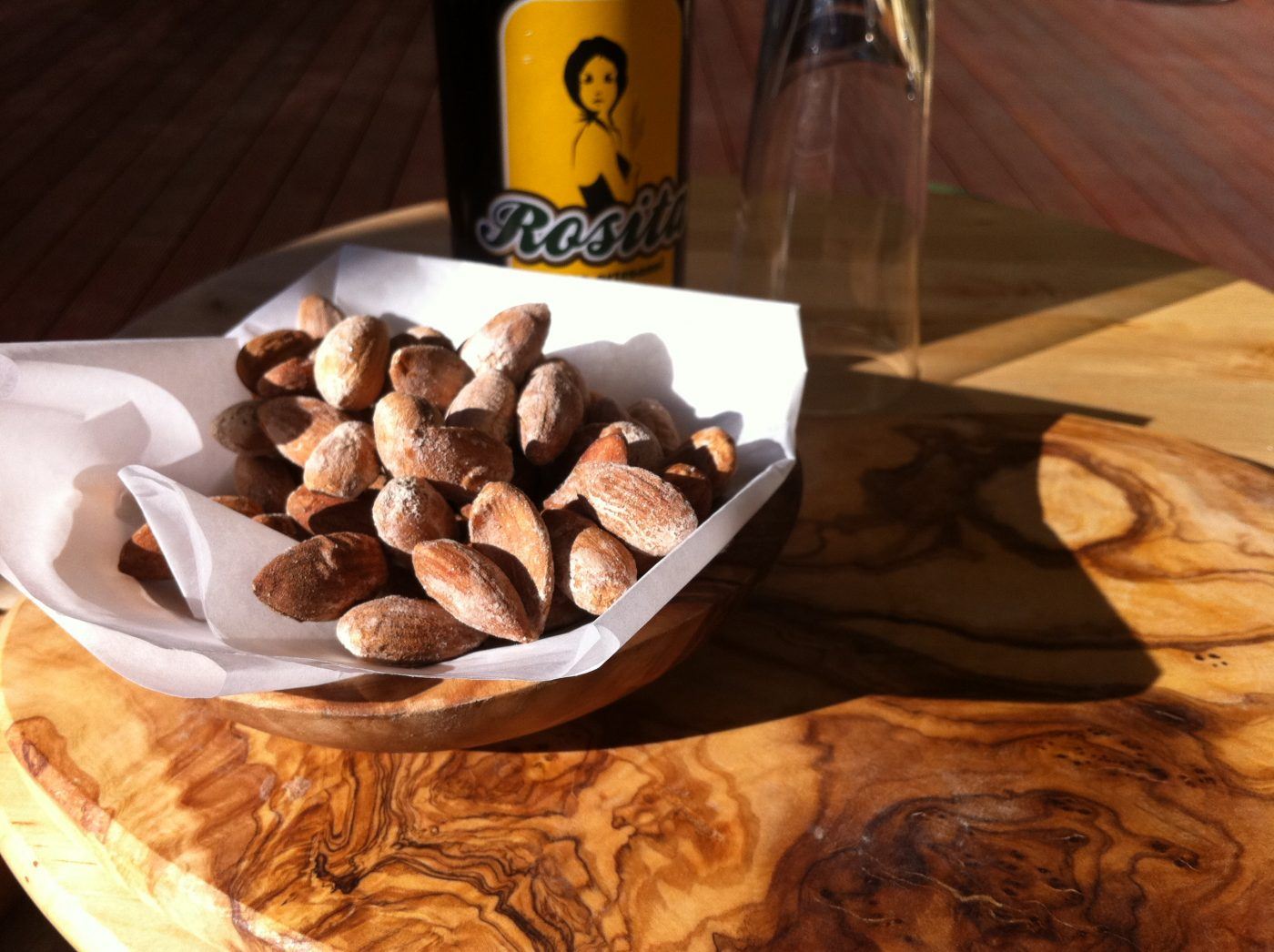 , Salted Almonds