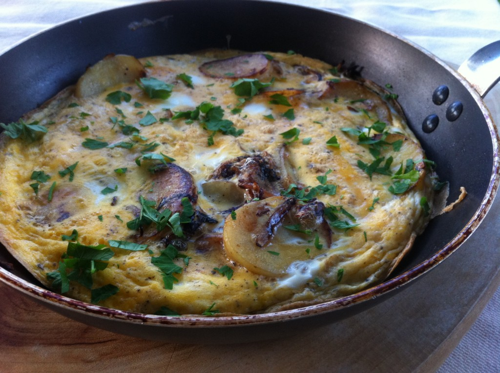 , Egg facts and a 'schmancy' Spanish omelette