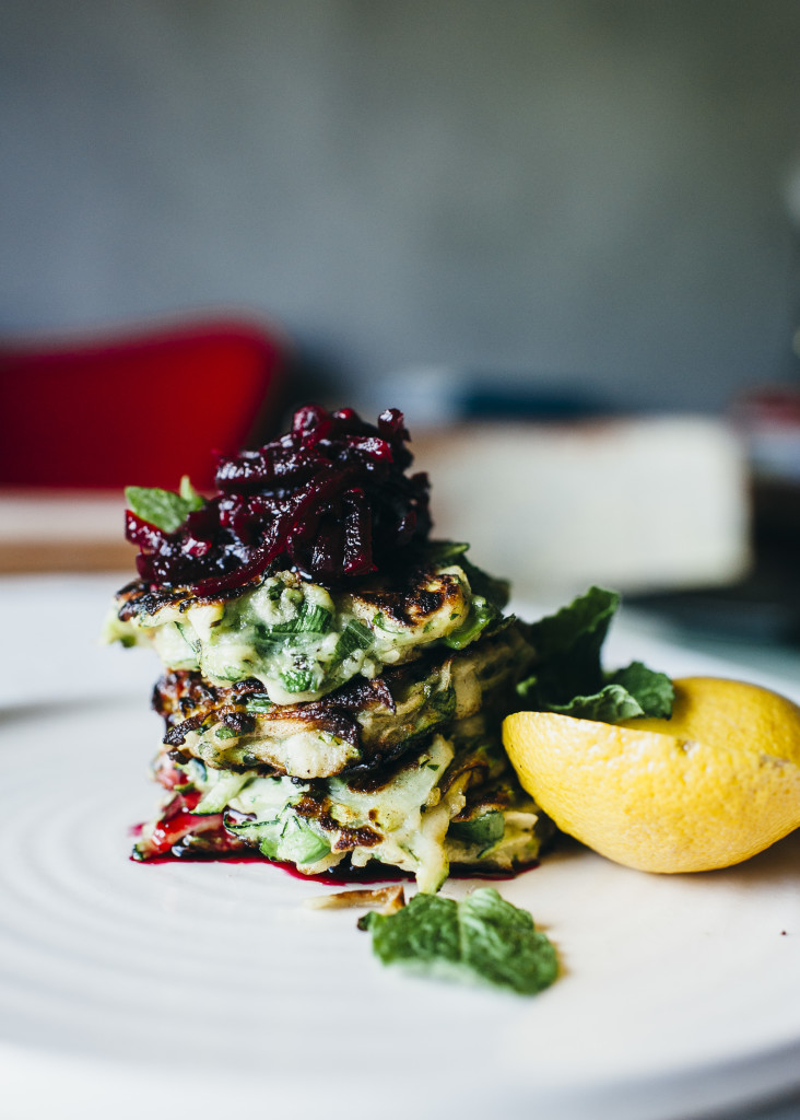 , The best zucchini fritters & a minty Mojito for Christmas