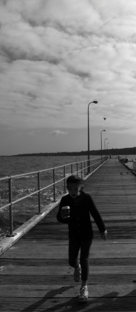 Pier walks in the cold