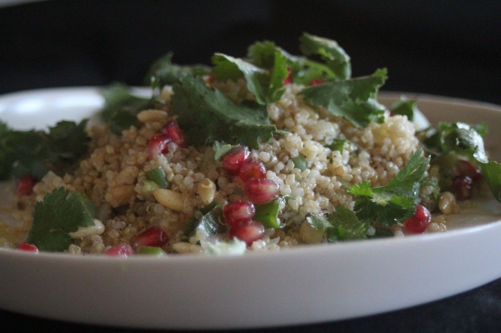 , The best quinoa salad recipe that didn't take the 'Man' out of my man