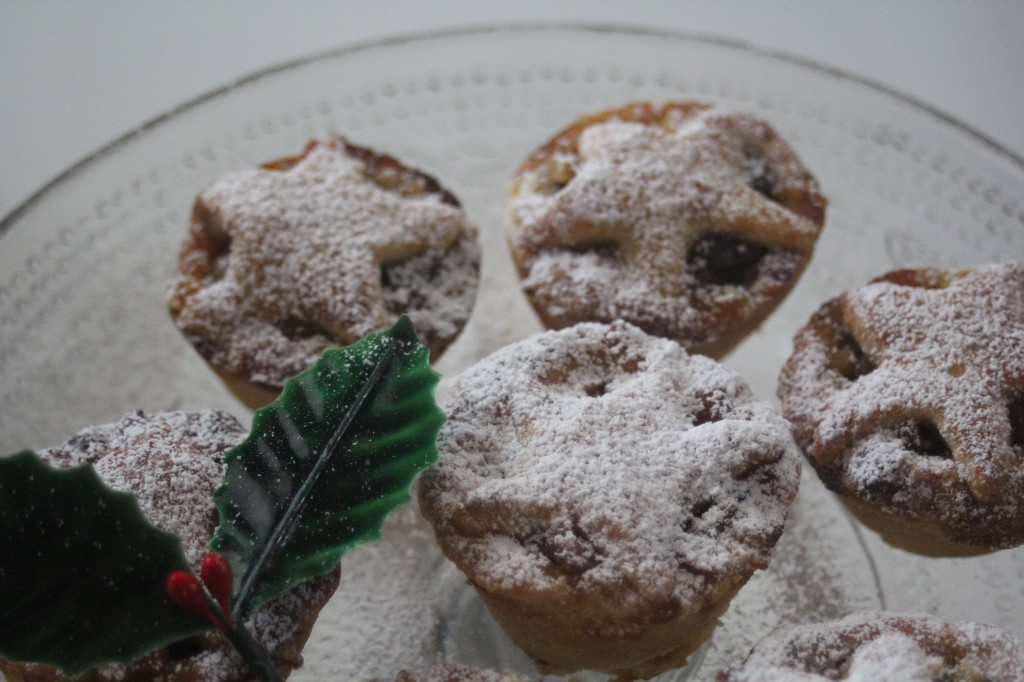 , Recipe for Christmas mince pies