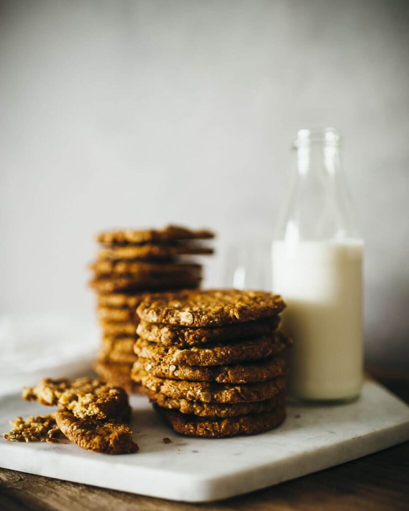 , Anzac biscuits – chewy not crunchy