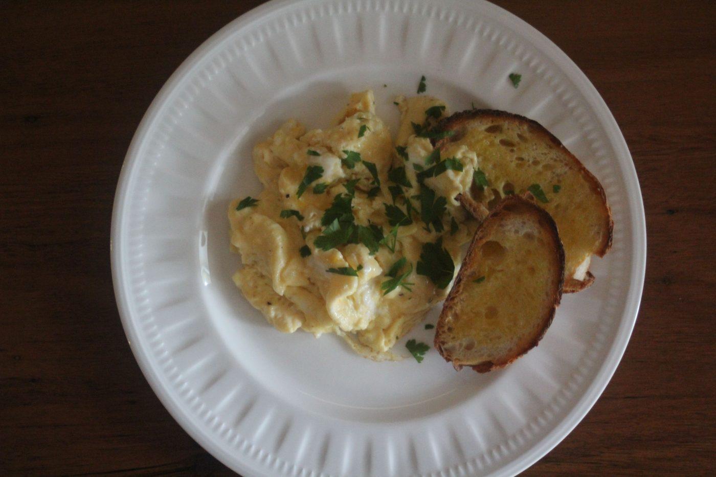 , Perfect scrambled eggs