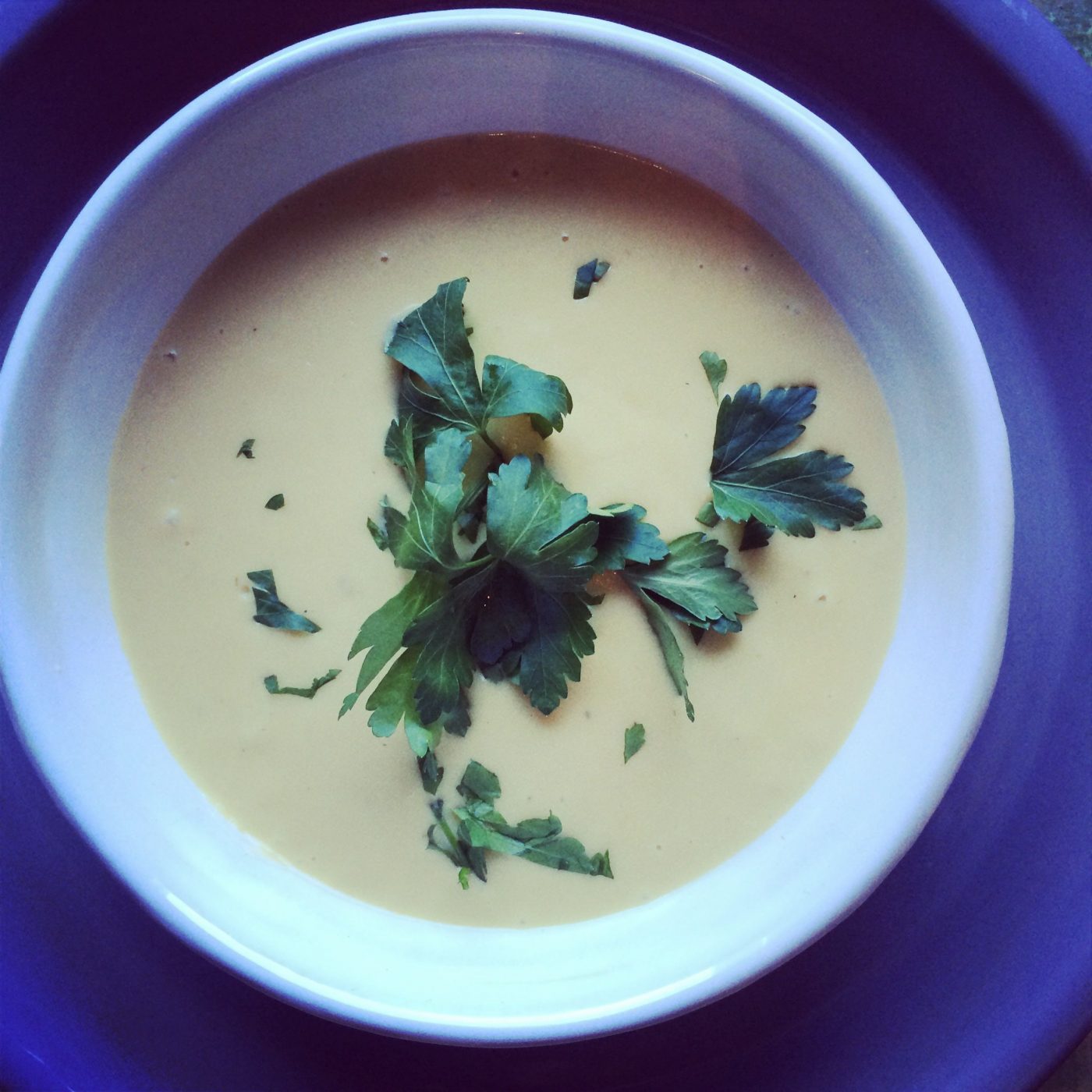 , Potato & leek soup