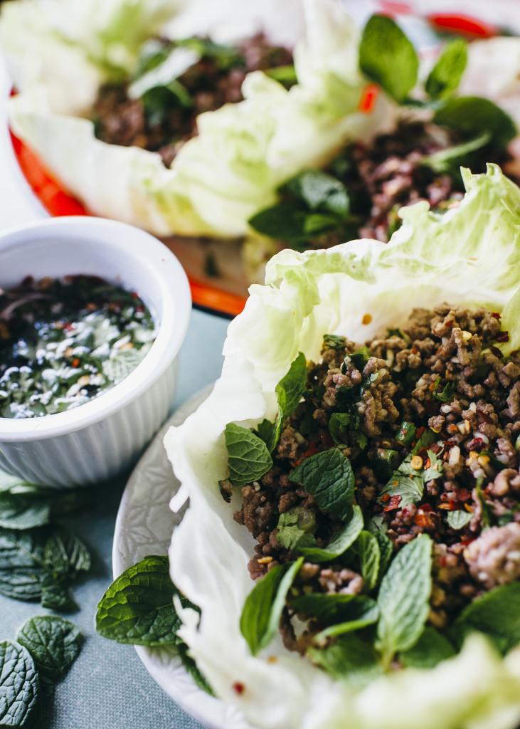 Thai larb recipe from The Relish Mama cookbook