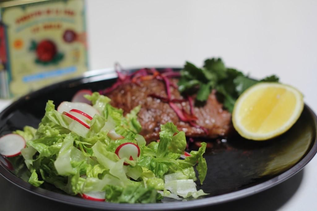 , Spanish smoky paprika 'minute' steaks