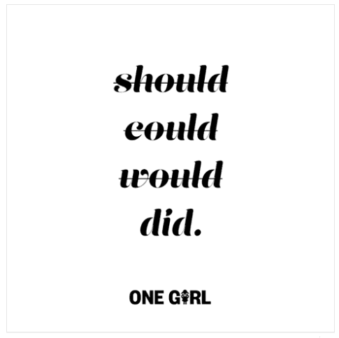 , My heart and ethics took a hit today for 'One girl'….can you help