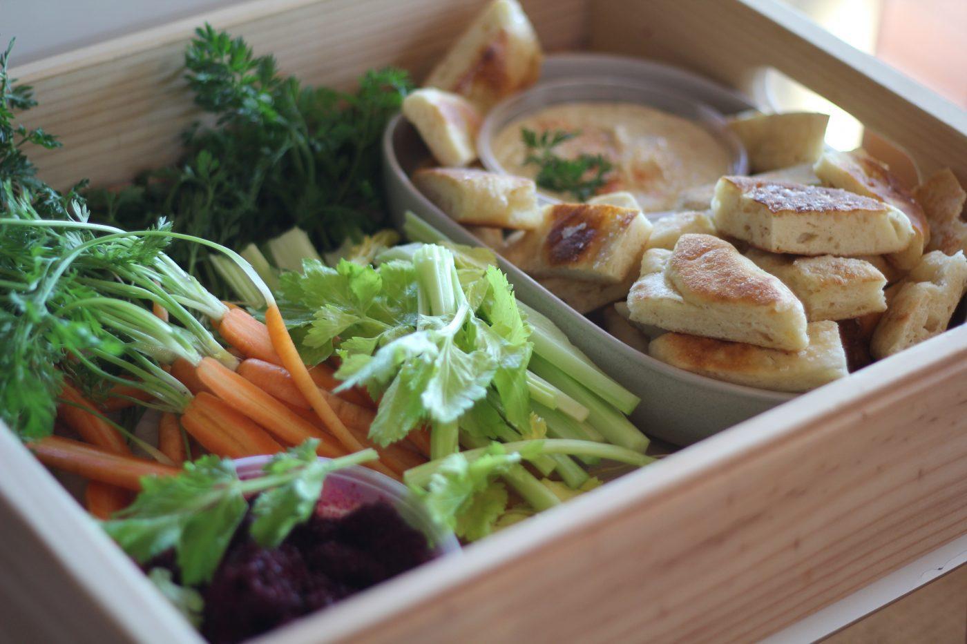 , My Grace's healthy snack platter – it's a winner !