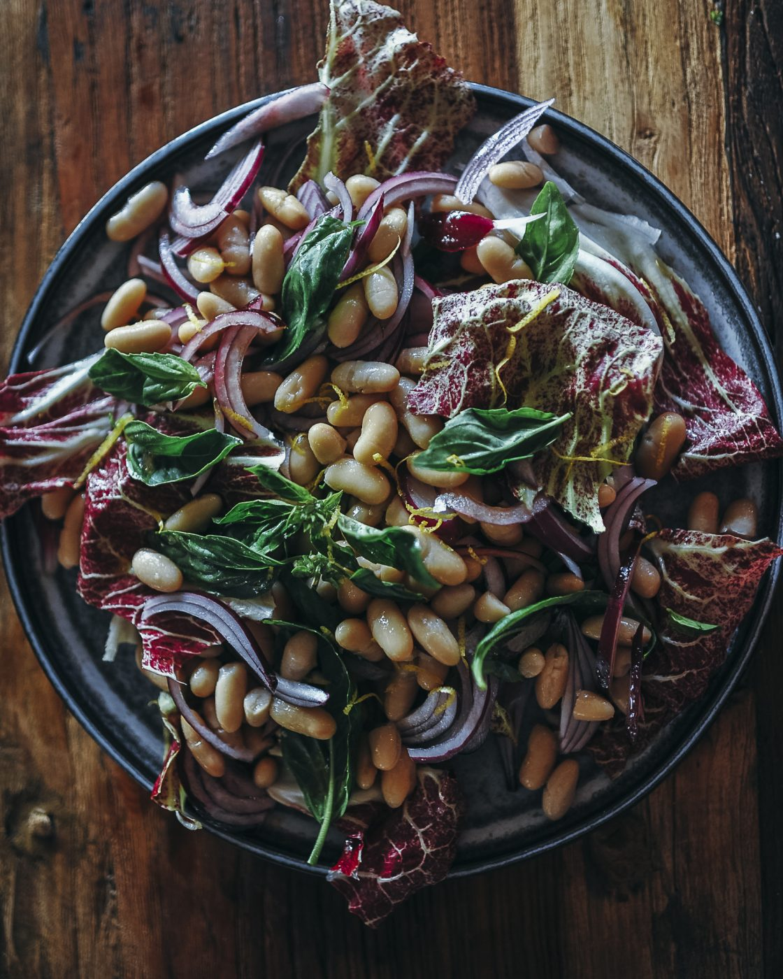 , Deliciously easy cannellini bean salad