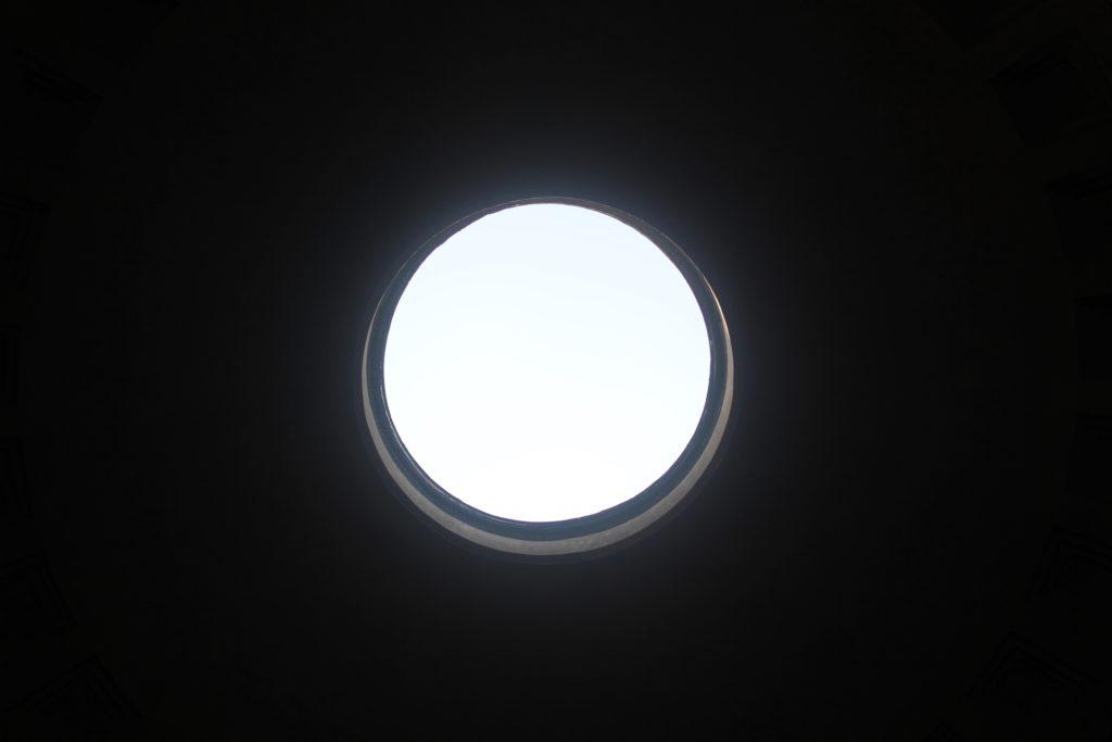 The eye - Pantheon Rome 2016