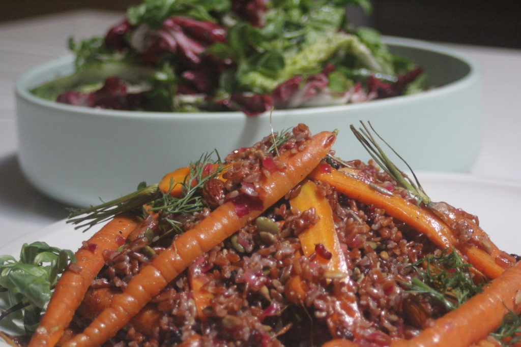 , Nowruz – Persian new year and a nourishing red rice salad