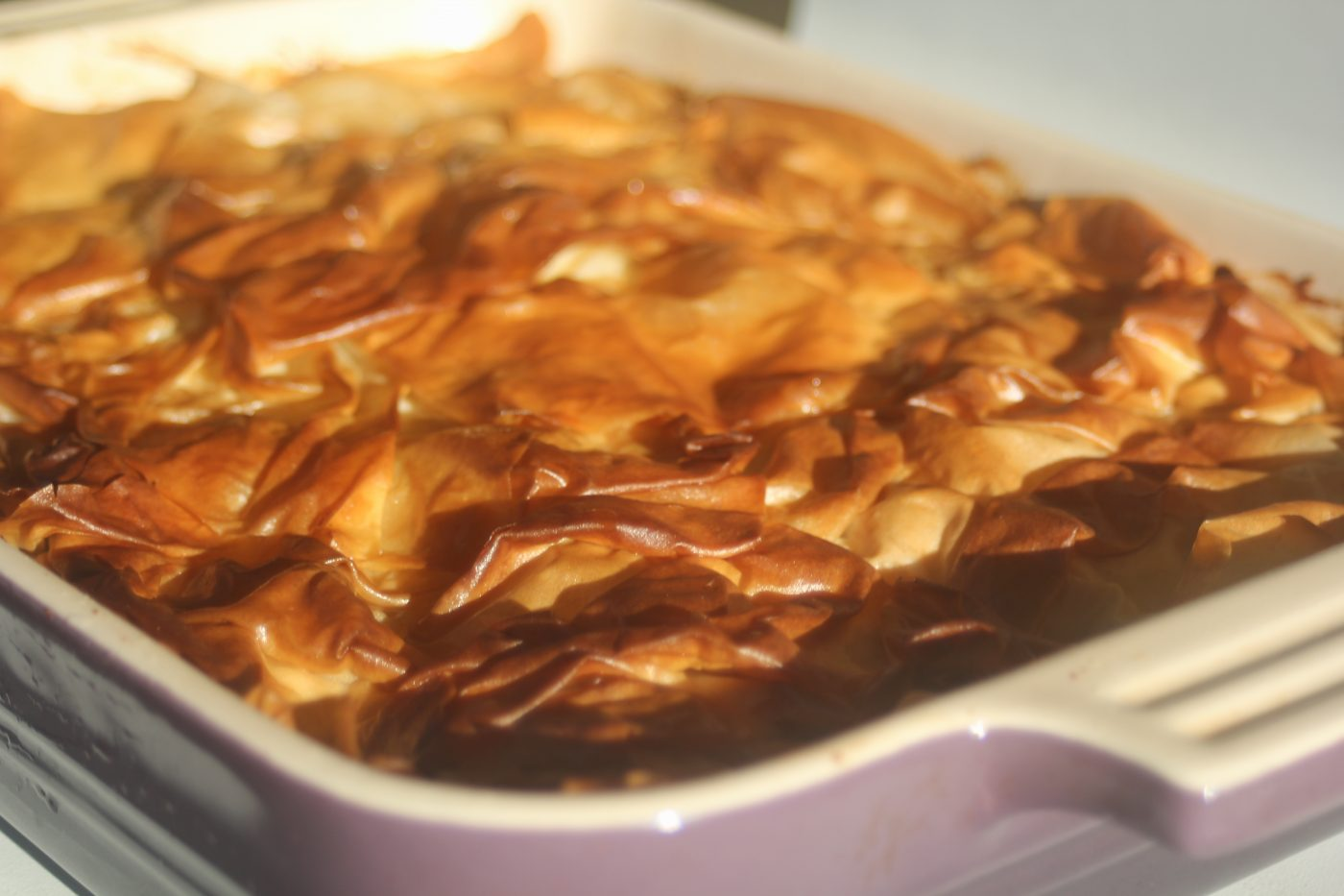 , Ottolenghi herb filled pie