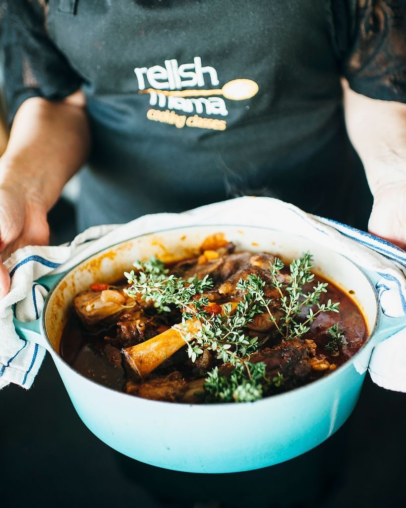 , Lamb shanks in ras el hanout and some tips for slow cooking and using a slow cooker