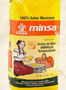 Masa harina 1kg yellow packet