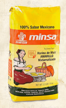 Masa harina 1kg yellow packet
