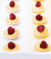 Mini cocktail tartlet pastry cases