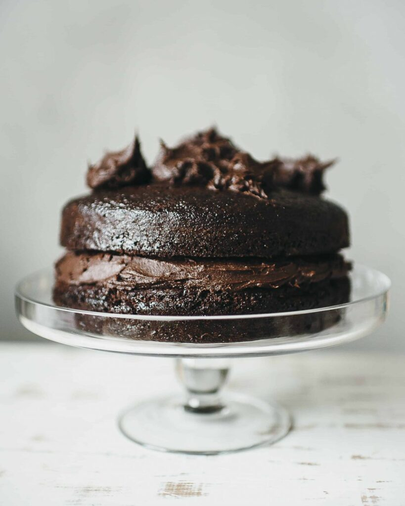 , Nellie's best ever chocolate cake  …..because today we are nine