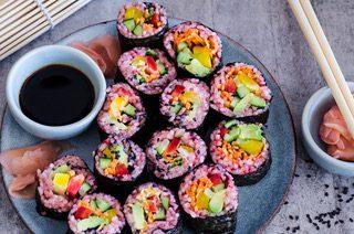 Easy Japanese – vegetarian plant based menu