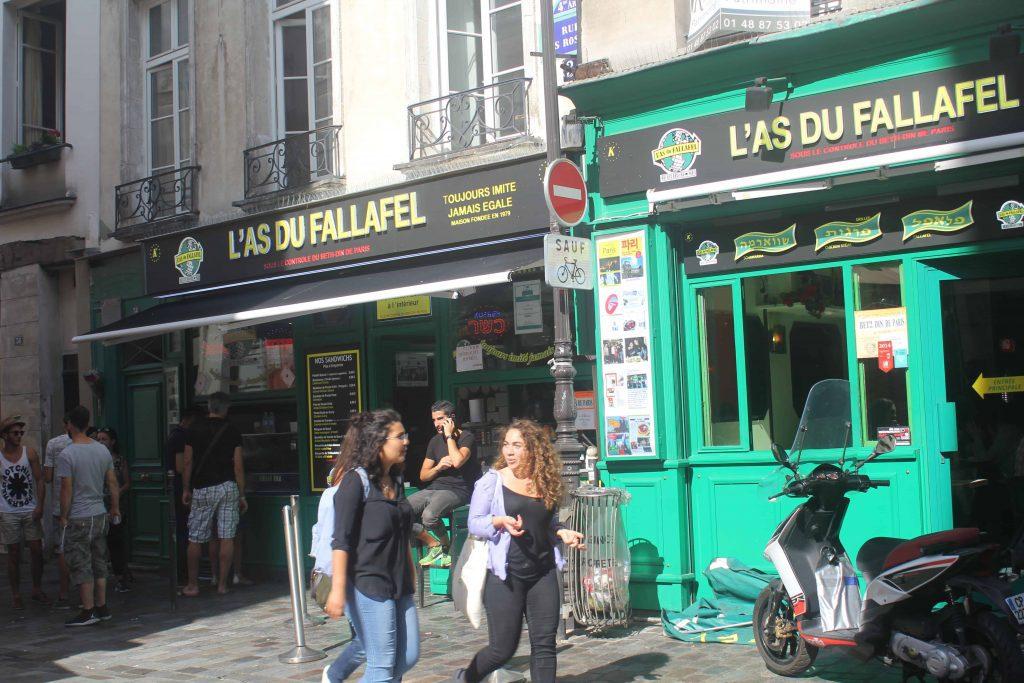 , A falafel is a culinary treat