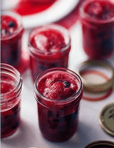 Strawberry jam preserves class at Relish Mama