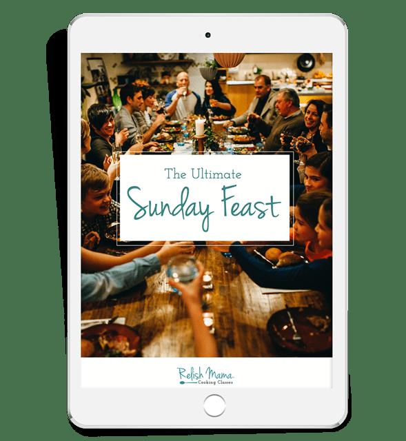 The ultimate sunday feast ebook
