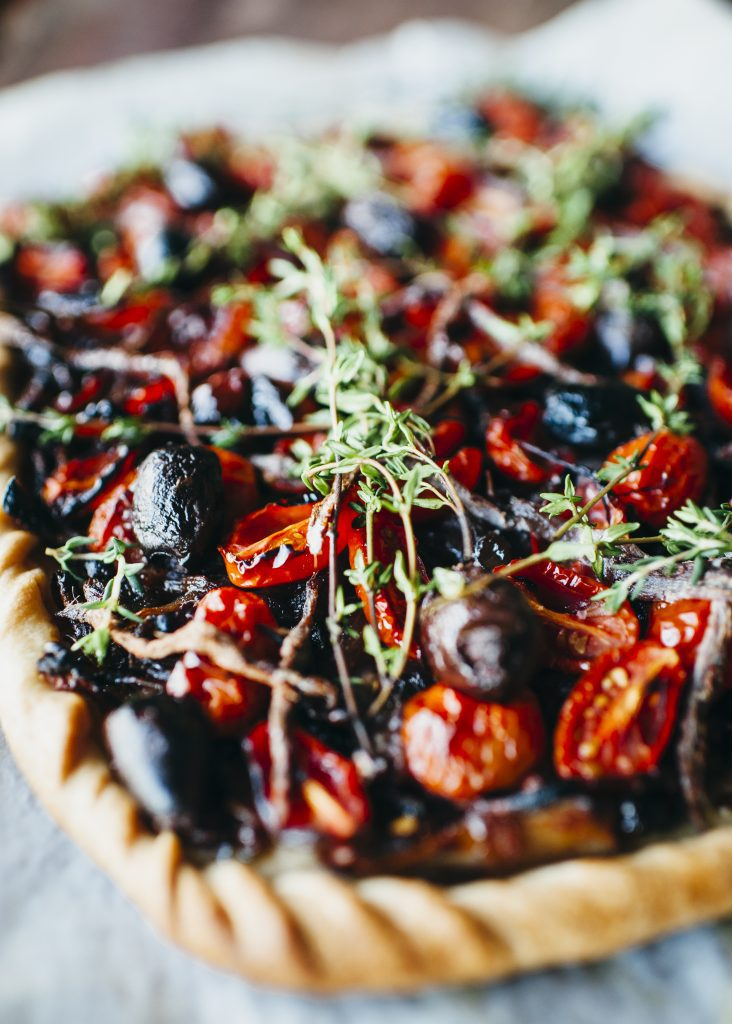 , French pizza for my girl – Pissaladiere
