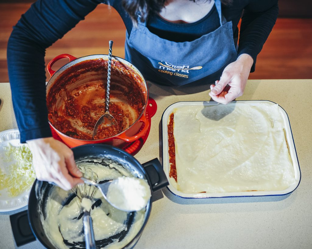 , Nellie's lasagne