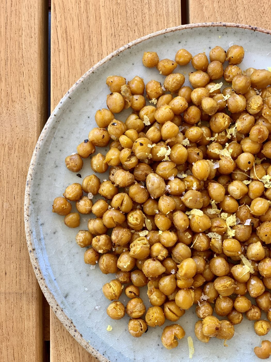 , Spiced oven-baked chickpeas
