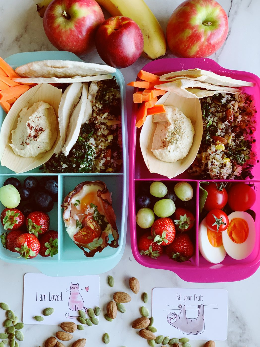 , How to create the ultimate delicious healthy lunch box
