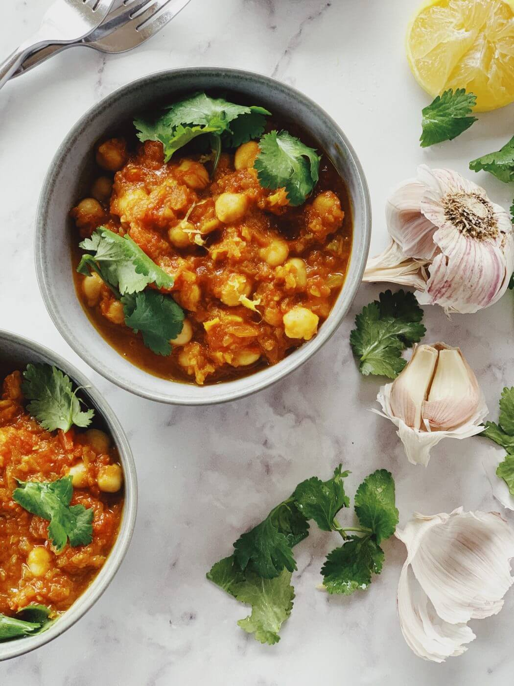 , Chana Masala – a quick and tasty little (plant based) number