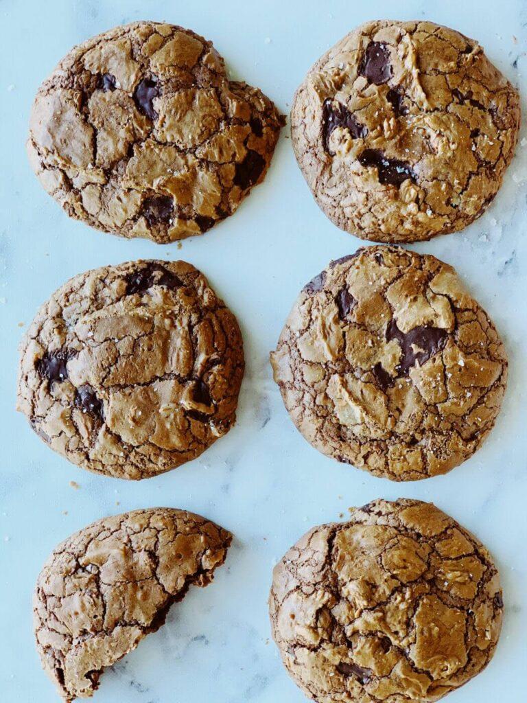 , So-good chocolate brownie cookies