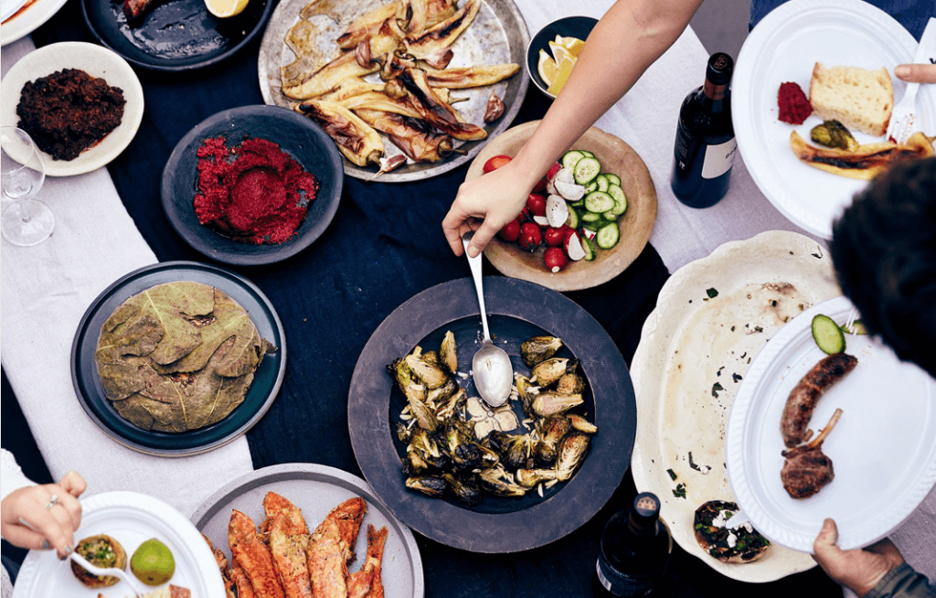 Hellenic culture at its core: sharing, connections, wining and dining with one another.