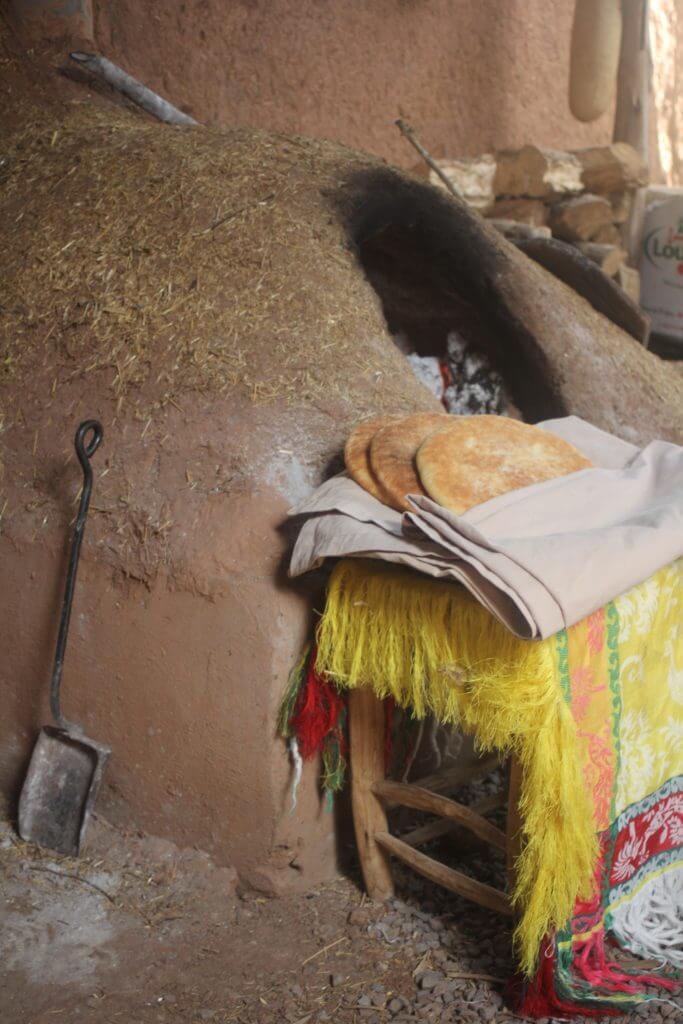 , Tafarnout bread – Bread from the Berber people