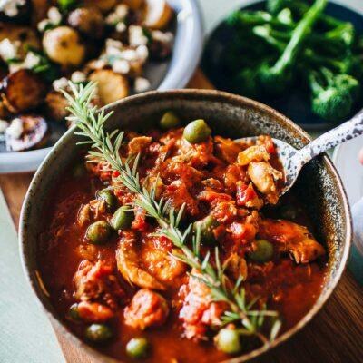 Rustic Italian online cooking class