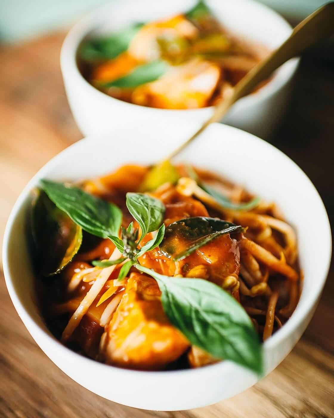 Thai fish curry, A super delicious Thai fish curry with Italian sugo