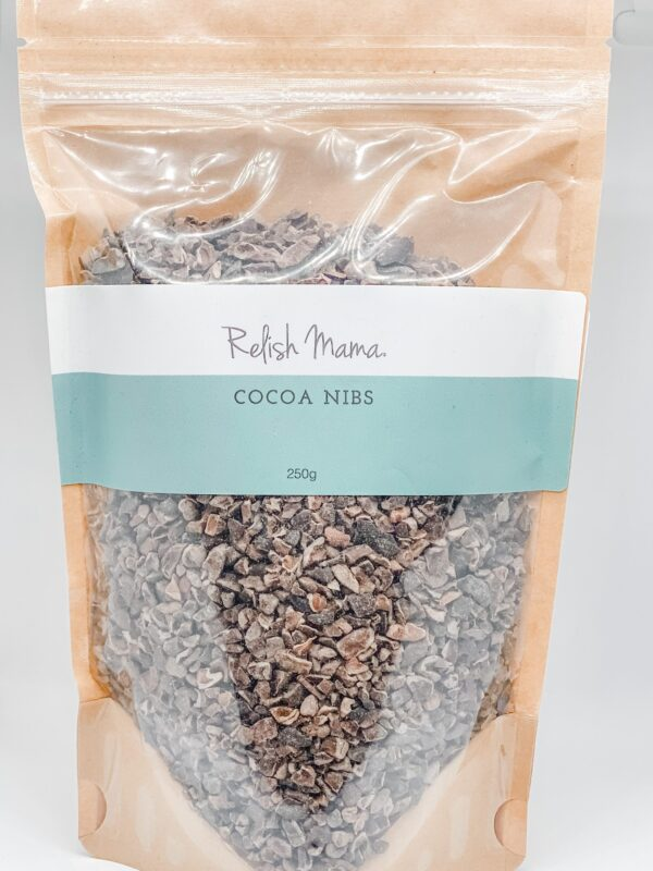 Cocoa nibs by Relish Mama