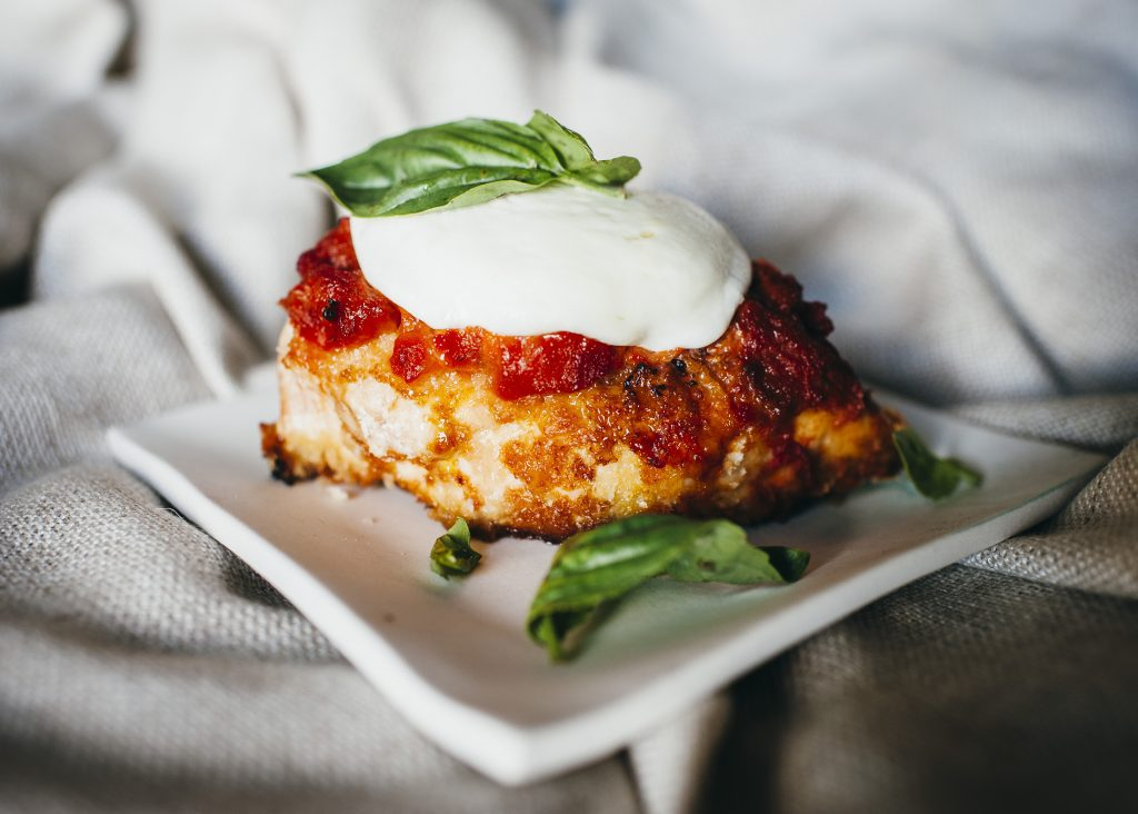 Sensational modern day Chicken Parmigiana, Sensational modern day Chicken Parmigiana