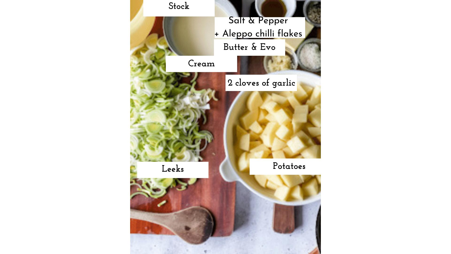 Potato and Leek Soup, Potato and Leek Soup