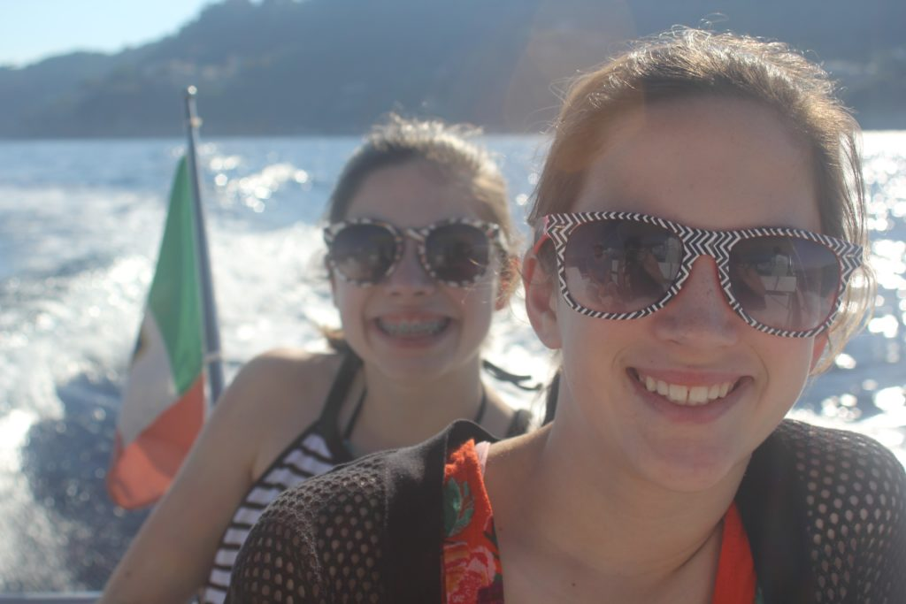 What a way to spend the day - Boat rides in Portofino