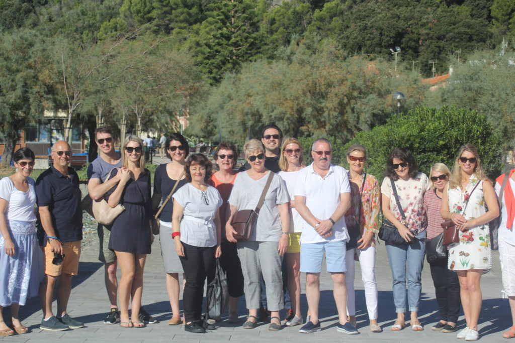 The amazing crew I had the pleasure of travelling to Italy with this year. My 'other' family