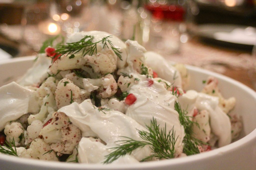 , Warm cauliflower salad – for when a cauliflower salad is not just for Christmas